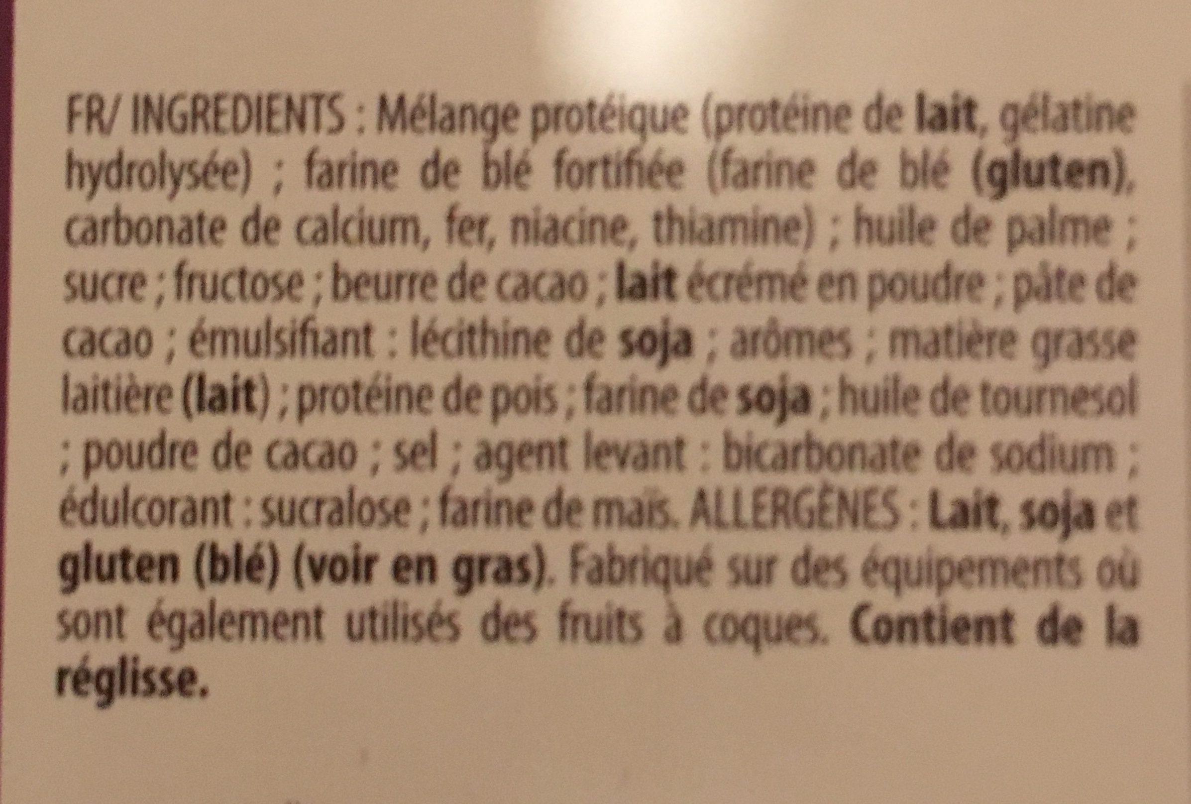 Gaufrettes Arôme Beurre de Cacahuètes - Ingrédients - fr