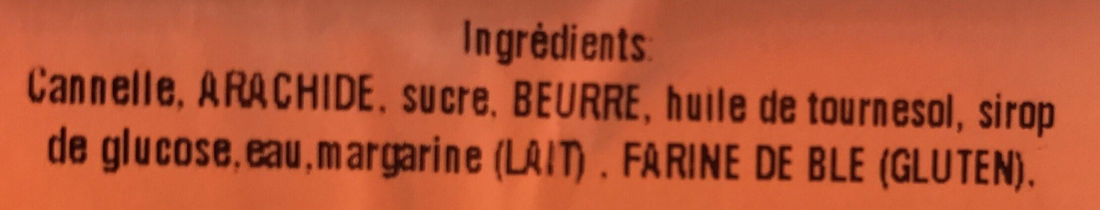 Assortiment de petits fours libanais - Ingrediënten