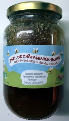 Miel de Châtaignier-Ronce des Pyrénées Ariégeoises - Produit - fr