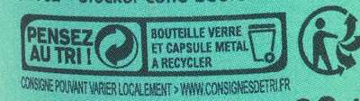 IPA - Recycling instructions and/or packaging information - fr