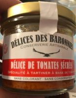 Delice de tomates sechees - Product - fr