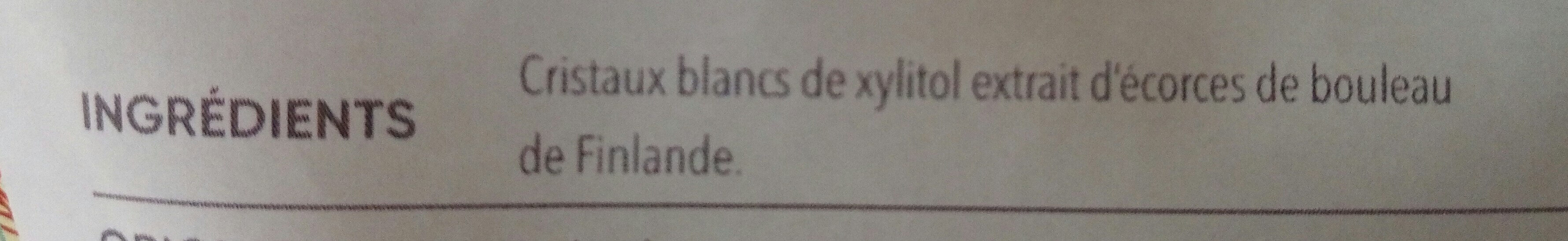 Xylitol - Ingrédients - fr