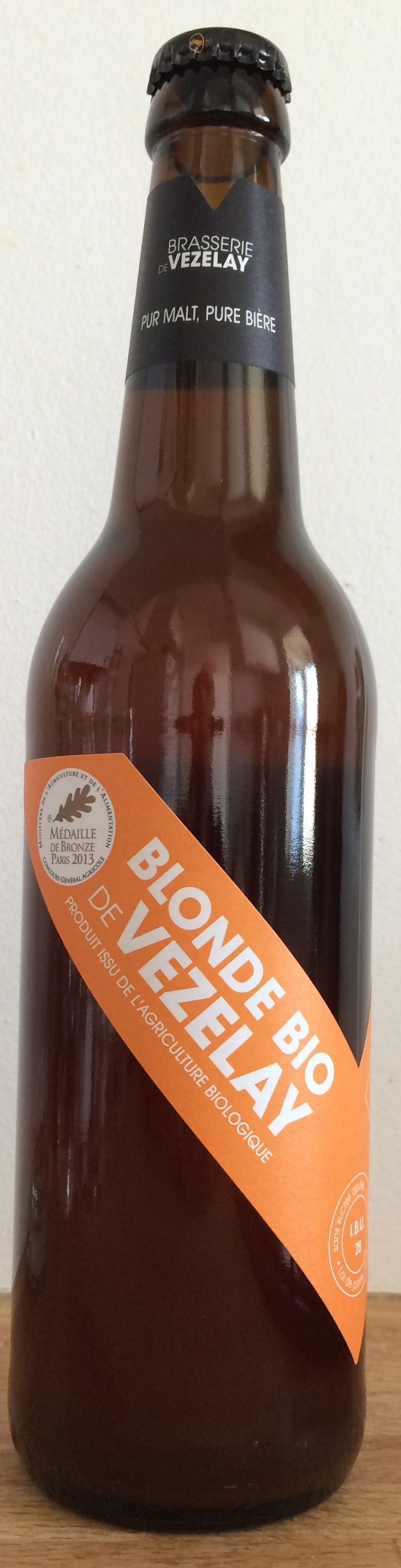 Blonde bio de Vezelay - Product - fr