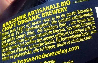 Dark Lager - Ingrediënten - fr