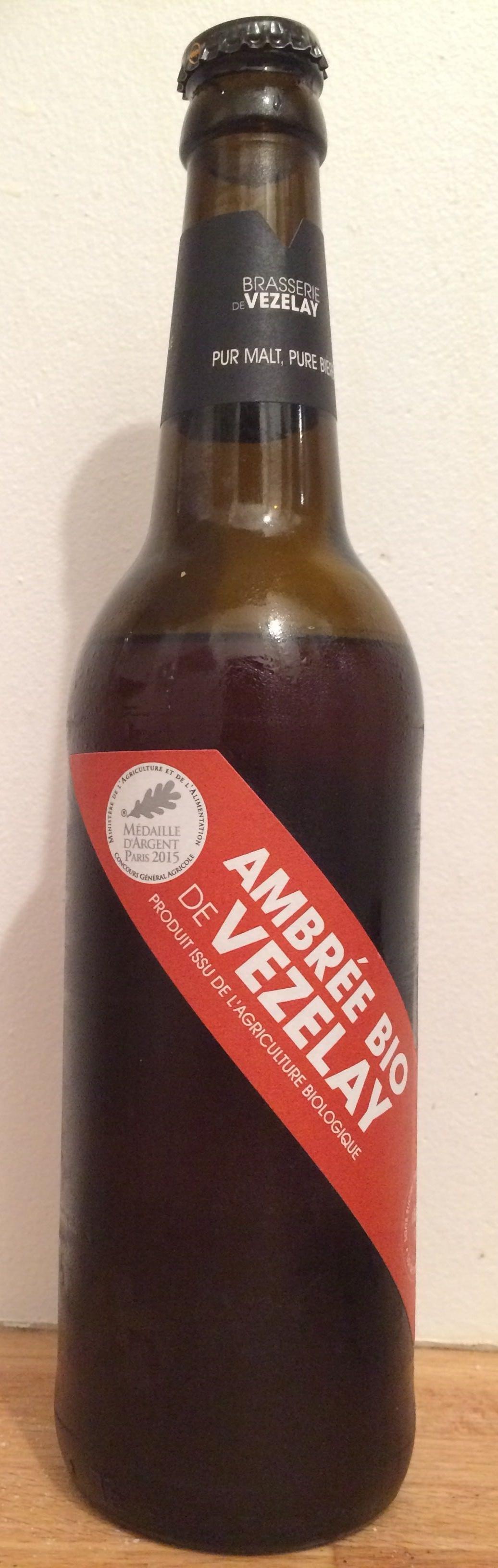Ambré Bio de Vezelay - Product - fr
