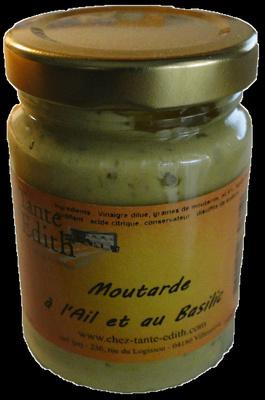 Moutarde à l'Ail et au Basilic - Product - fr