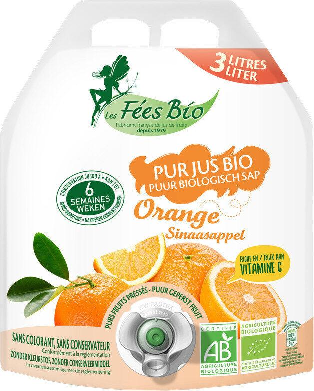 Pur jus  orange bio - Product - fr