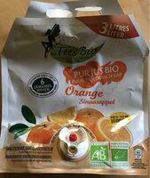 Pur jus  orange bio - Voedingswaarden - fr