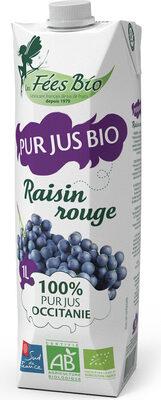 Pur jus de raisin bio 100% occitanie - Prodotto - fr