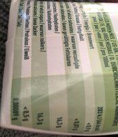 Pur jus de raisin bio 100% occitanie - Valori nutrizionali - fr