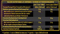 Pina colada - Voedingswaarden - fr