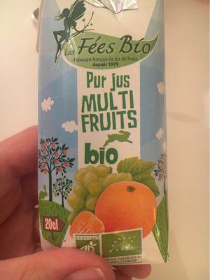 Pur jus multi fruits bio - Product