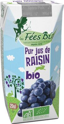 Pur jus de raisin bio - Prodotto - fr
