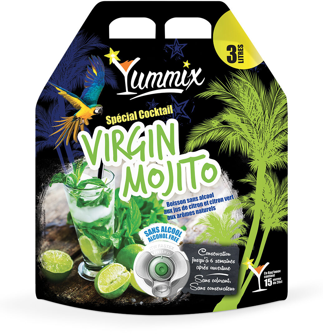 Virgin mojito - Product - fr