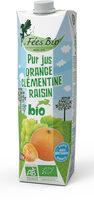 Jus multifruits Orange Clémentine Raisin - Product
