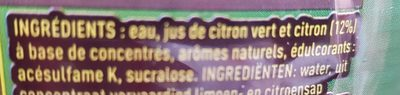 Mojito zéro - Ingrediënten - fr