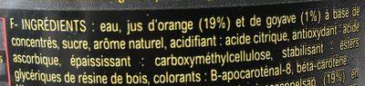Punch - Ingrediënten - fr