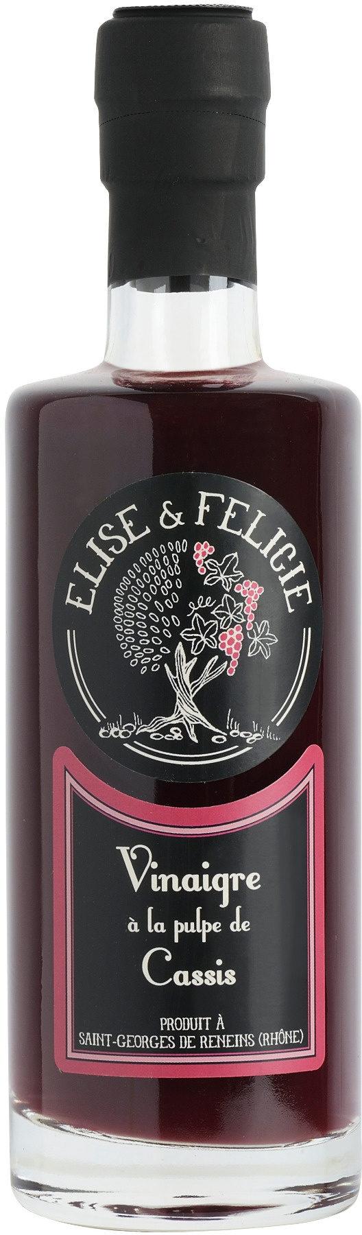 Vinaigre à la Pulpe de Cassis - Product - fr