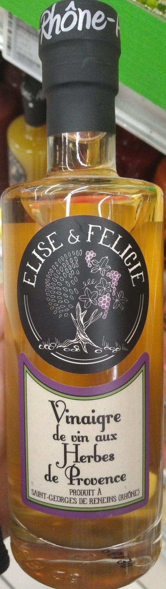 Vinaigre de Vin aux Herbes de Provence - Product