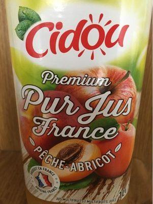 Premium Pur Jus France Pêche-Abricot - Product - fr