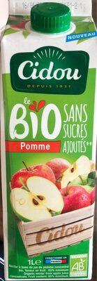 Le bio Pomme - Sans sucres ajoutés - Product - fr