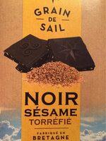 Noir Sésame Torréfié - Informations nutritionnelles - fr