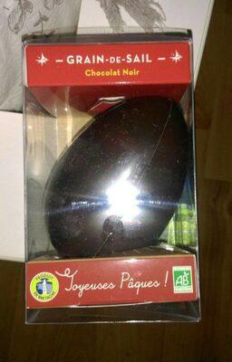 Oeuf au chocolat noir - Product - fr
