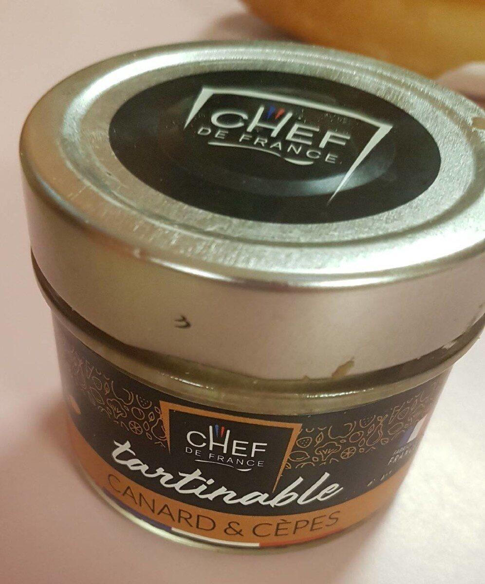 Tartinable canard et cèpes - Product - fr
