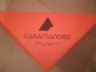 Caramandes - Produit