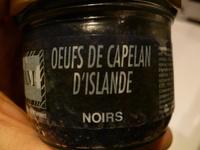Œufs de Capelan d'Islande Noirs - Product