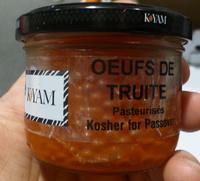 Œufs de Truite pasteurisés - Produit - fr
