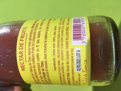 Verger de thau - Ingredients - fr