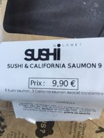 Sushi& California Saumon 9 - Produit - fr