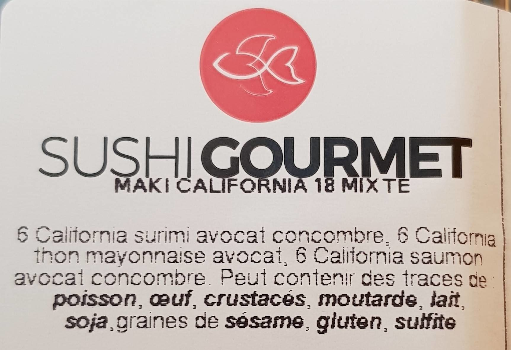 Maki california - Produit - fr