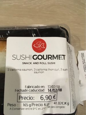 Snack and roll sushi - Produit - fr