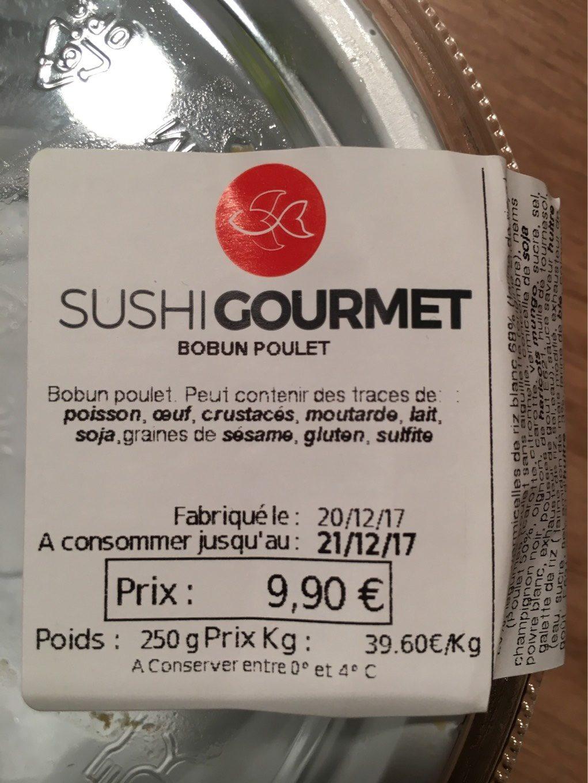 Bobun poulet - Produit - fr