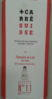 Chocolat au lait des Alpes recette n°11 - Produit