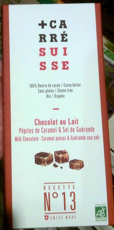 Chocolat au Lait Pépites de Caramel & Sel de Guérande - Product