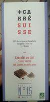 Chocolat au lait quinoa soufflé - Produit