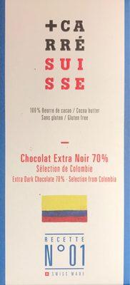 Chocolat Extra noir 70 % - Produit - fr