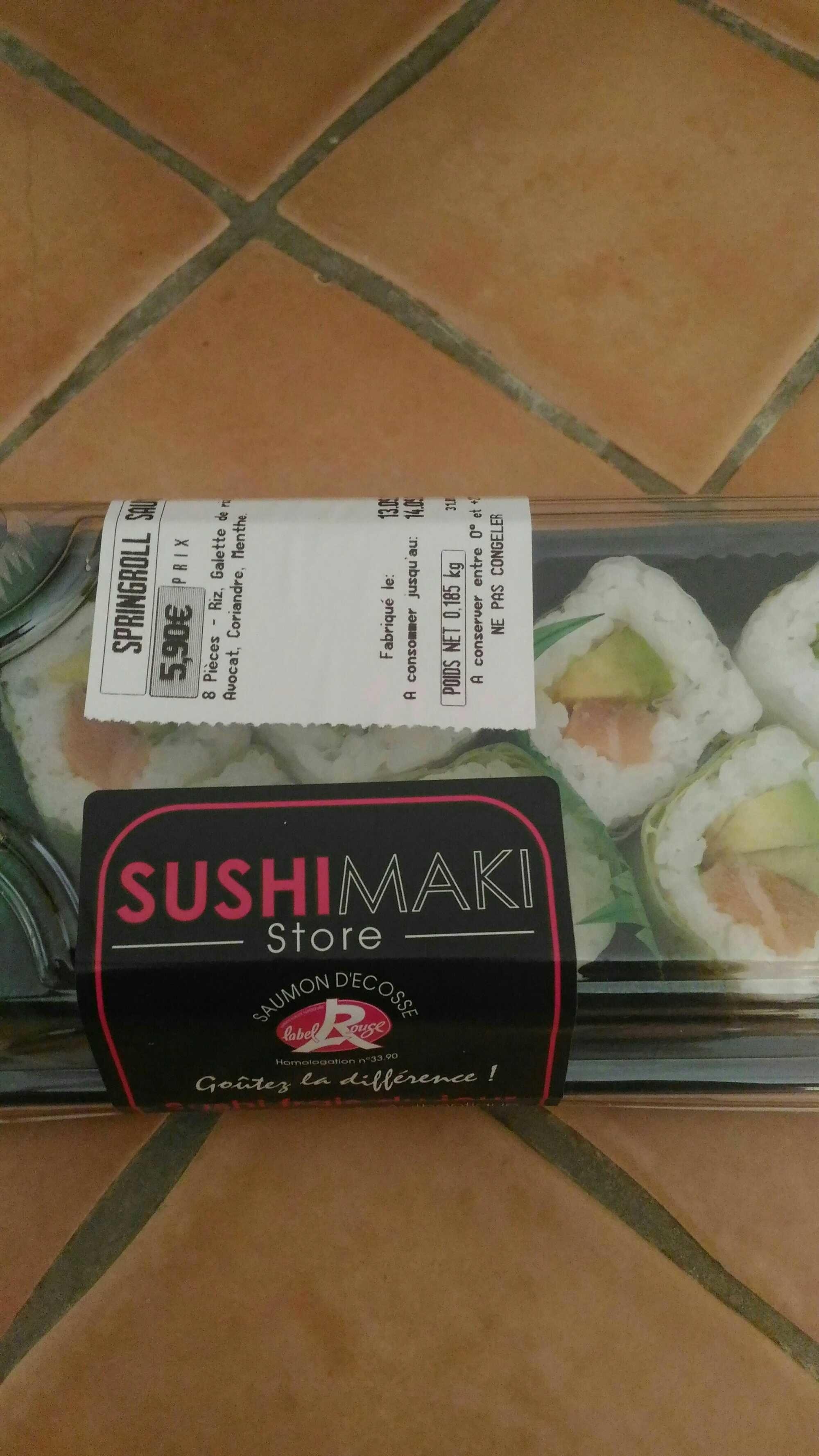 Springroll saumon avocat - Product