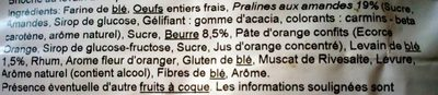 Mini Saint Génix sachet 200g Podis - Ingredients - fr