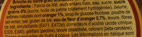 Couronne des Rois Parfum Fleur d'Oranger - Ingrediënten - fr