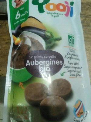 Galets surgelées de purée d'aubergine bio - Produit - fr