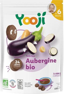 Purée surgelée d'aubergine bio lisse pour bébé dès 6 mois - Produit - fr