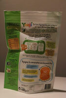 Yooji - 24 galets de purée courgettes bio - Informations nutritionnelles - fr