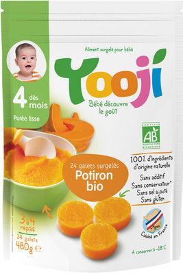 Yooji Purée bio surgelée dès 4 mois / Potiron - Produit