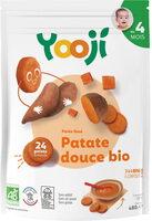 Purée surgelée de patate douce bio lisse pour bébé dès 4 mois - Produit