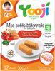 Yooji Bâtonnets surgelés bio dès 12 mois / Légumes du soleil - Produit