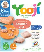 Yooji Saumon MSC surgelé dès 6 mois - Producto